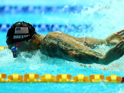 Dressel, en los 100m mariposa.