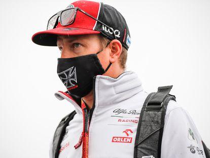 Kimi Raikkonen, en el circuito de Nürburgring (Alemania).