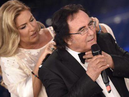 Albano y Romina Power, en Sanremo