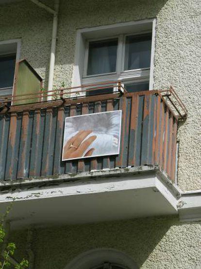 La instalación de la artista Christina Wuermell en el proyecto 'Die Balkonen', en Berlín.