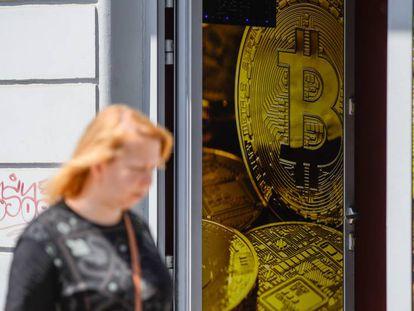 Tienda de intercambio de moneda virtual en Polonia.