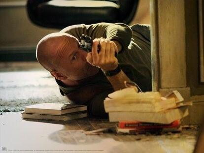 Bruce Willis en una escena de la película 'La jungla 4.0', de Len Wiseman.