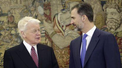 Felipe VI recibe el martes en audiencia al presidente de Islandia, Olafur Ragnar.