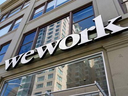 Oficinas de la compañía WeWork en San Francisco