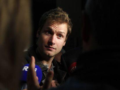 Alex Schwazer en una foto de 2012 en la sede del CONI