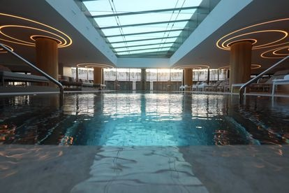 La piscina del spa del Hotel Four Seasons de Madrid.
