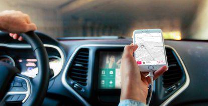 La app de coches compartidos para trayectos de corta distancia SPLT.