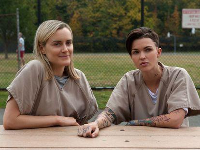 Taylor Schilling y Ruby Rose, uno de los nuevos fichajes para la tercera temporada de 'Orange Is the New Black', donde interpretará a Stella Carlin.