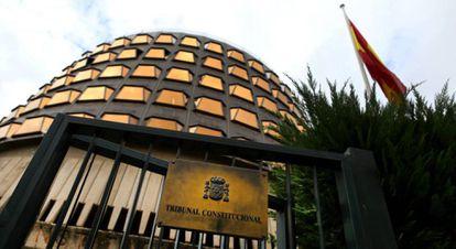 Edificio del Tribunal Constitucional en una imagen de archivo.