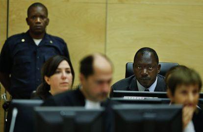 Thomas Lubanga, escucha la sentencia.