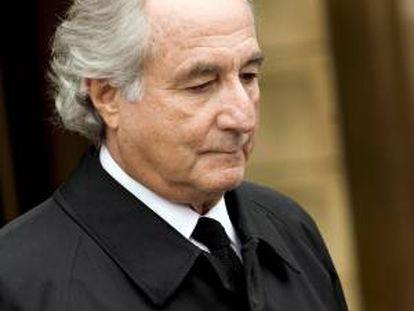 Fotografía del 10 de marzo de 2009 del ex financiero Bernard Madoff. EFE/Archivo