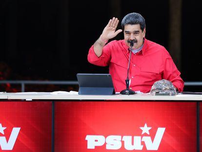 Nicolás Maduro, durante una conferencia de prensa el pasado 24 de mayo.