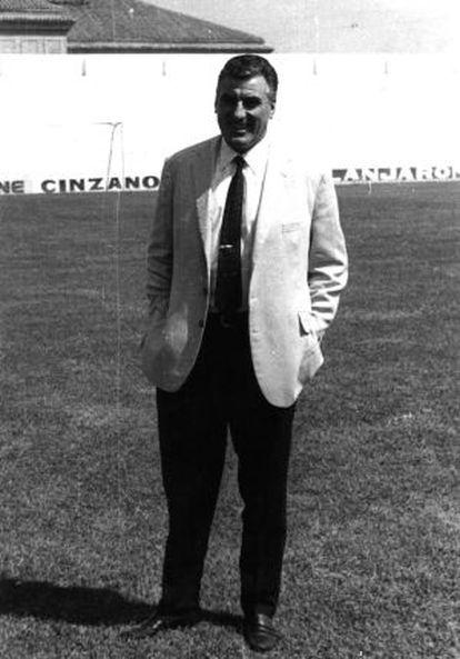 Néstor, El Pipo, Rossi, en su etapa de entrenador del Granada