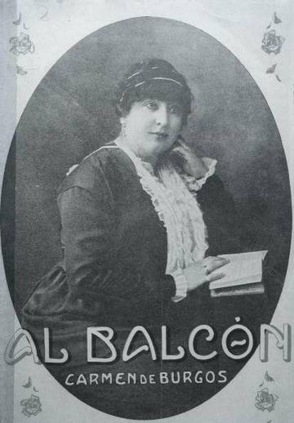 Portada de 'Al balcón' (1913).