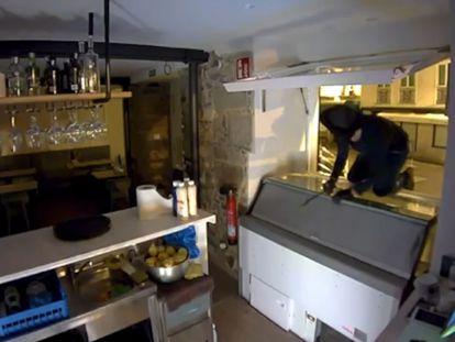 En vídeo, uno de los robos de el 'Luciérnaga'