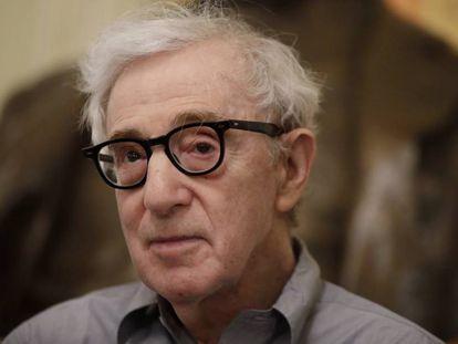 Woody Allen, en Milán, el pasado 2 de julio.