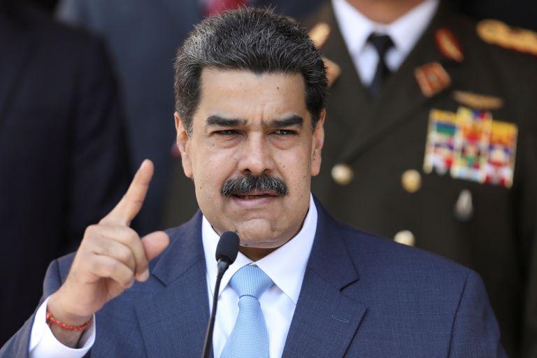 El presidente venezolano, Nicolás Maduro, en una reciente comparecencia.