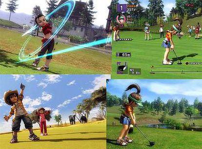 Los monigotes pueden llevar a engaño de la utilidad del juego para los aficionados al golf.