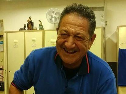Santos González, trabajador de Metro de Madrid fallecido por una enfermedad derivada de la exposición al amianto, en una imagen cedida por CCOO.
