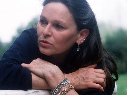La actriz Lucia Bosé, en 1980.