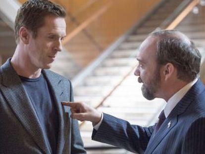 Damian Lewis y Paul Giamatti protagonizan la serie ambientada en el mundo de las altas finanzas