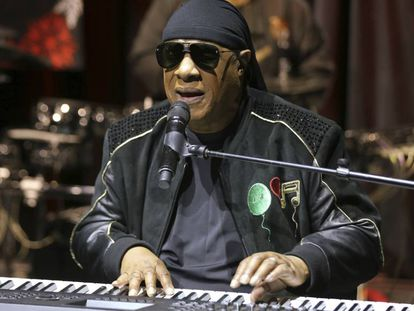 Stevie Wonder, en Los Ángeles, el pasado noviembre.