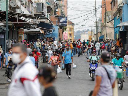 Una de las calles de Caracas, Venezuela, el pasado 3 de abril de 2020.