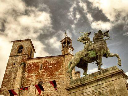 Plaza Mayor de Trujillo. |