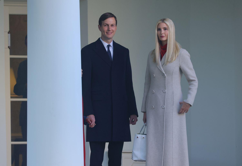 Ivanka Trump y su Jared Kushner, en la Casa Blanca.