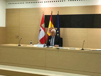 José Luis Concepción, presidente del TSJCyL.