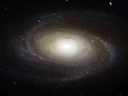Imagen de la galaxia espiral M81.