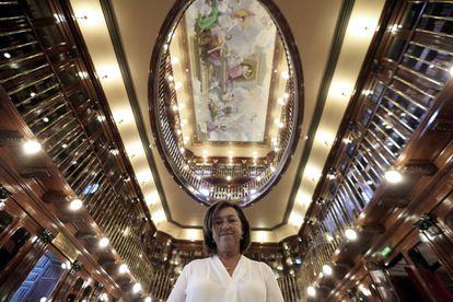 Alicia Martín, jefa de la biblioteca del Congreso.