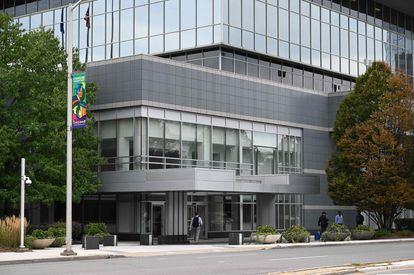 Sede de Purdue Pharma, en Stamford (Connecticut) en septiembre de 2019.