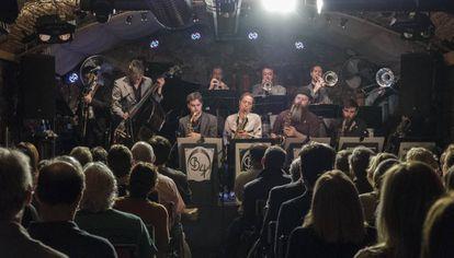 La Barcelona Big Blues Band en la sala Jamboree.