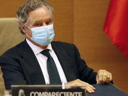 Ignacio López del Hierro, comparece este miércoles en la comisión de investigación del 'caso Kitchen' en el Congreso.