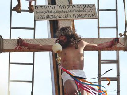 El barrio de Iztapalapa, en la capital mexicana, se prepara para el Vía Crucis más importante y masivo del país  la representación más real del sufrimiento de Jesús