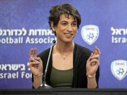 Sapir Berman, el pasado martes en Ramat Gan (Israel).