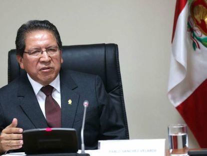 El Fiscal de la Nación de Perú, Pablo Sánchez Velarde.