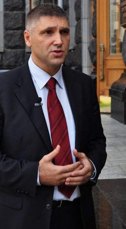 Yuri Miroshnichenko, Representante presidencial de Ucraina.