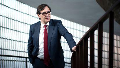 El ministro de Sanidad y candidato del PSC a la Generalitat, Salvador Illa.