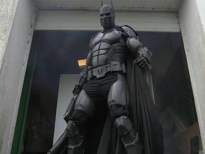 El nuevo traje de Batman entra en el Libro Guinness de los records