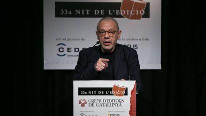 Lluís Pasqual, al recibir el Premio Atlántida.