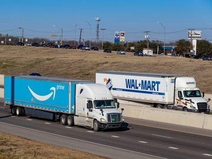 Una de las autopistas gestionadas en EE UU por Ferrovial, donde se ha incrementado el tráfico de operadores como Amazon o Walmart.