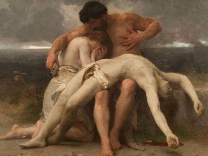'El primer duelo', de William Bouguereau.