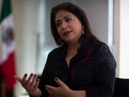 Fabiola Alanís, titular de laComisión Nacional para Prevenir y Erradicar la Violencia contra las Mujeres.