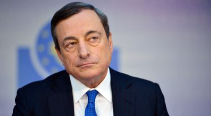 Mario Draghi, presidente del BCE, tras la reunión de junio.