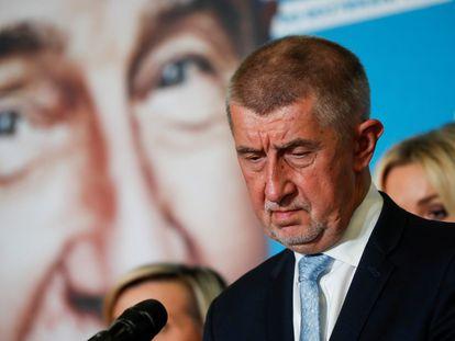 El primer ministro de República Checa, Andrej Babis.