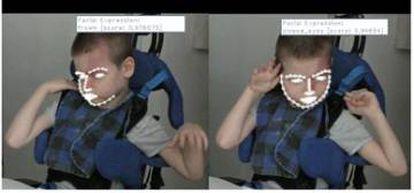 Ejemplo del sistema de reconocimiento de expresiones faciales que desarrolla CTIC para INSENSION.