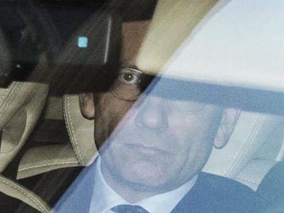 El primer ministro italiano, Enrico Letta, tras una reunión con el presidente Giorgio Napolitano, el viernes 27.