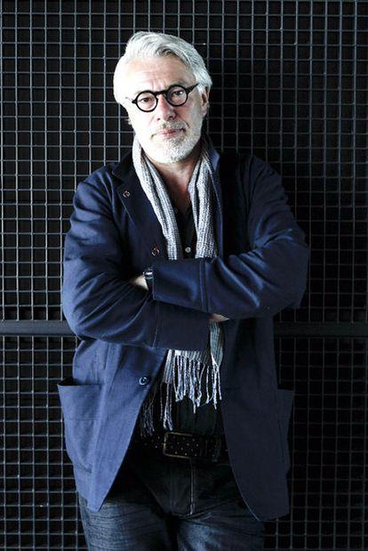 Chris Dercon, en el edificio Nouvel del Museo Reina Sofía.
